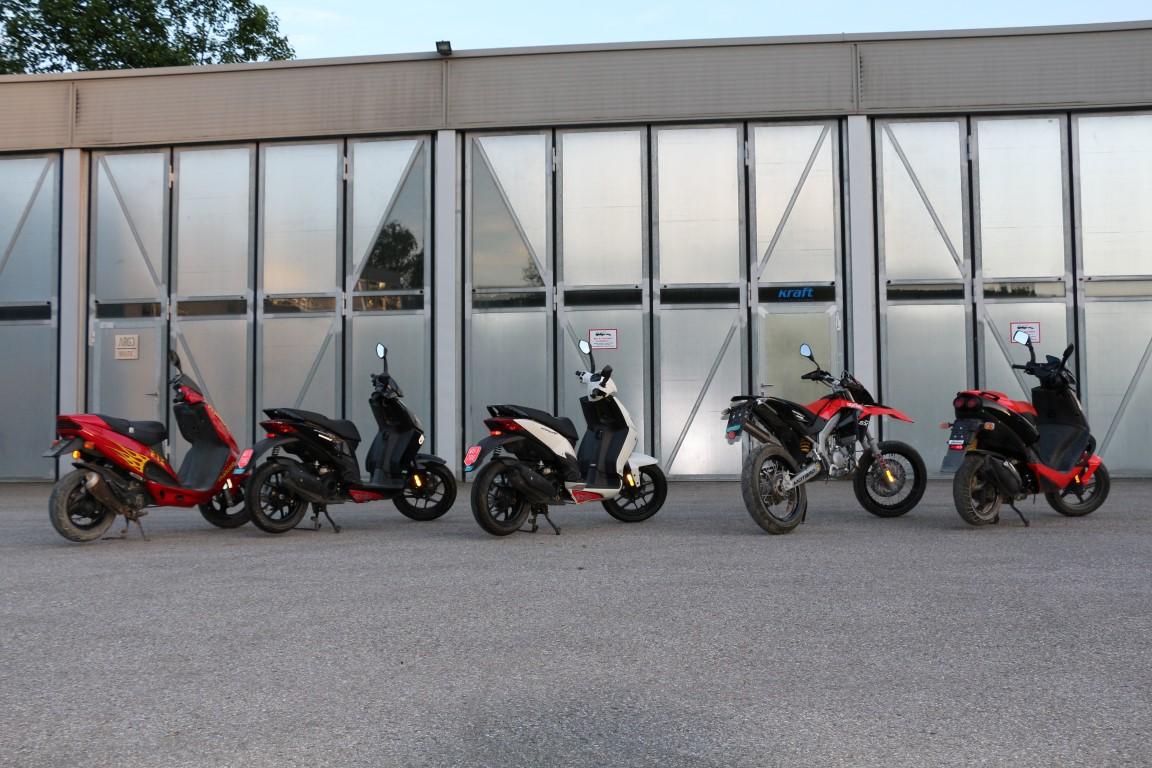 Für den Moped-Schein